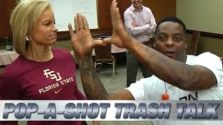Clinton Portis Pop-A-Shot Trash Talk with ACC Women