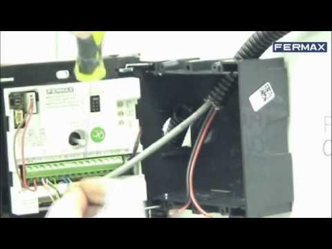 c mo instalar kit de videoportero fermax sertec www