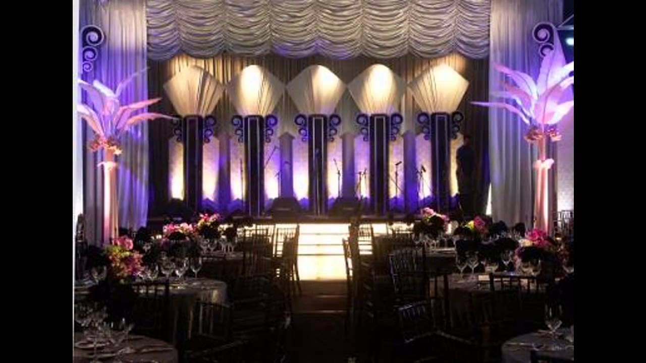 Creative Art deco party decorations