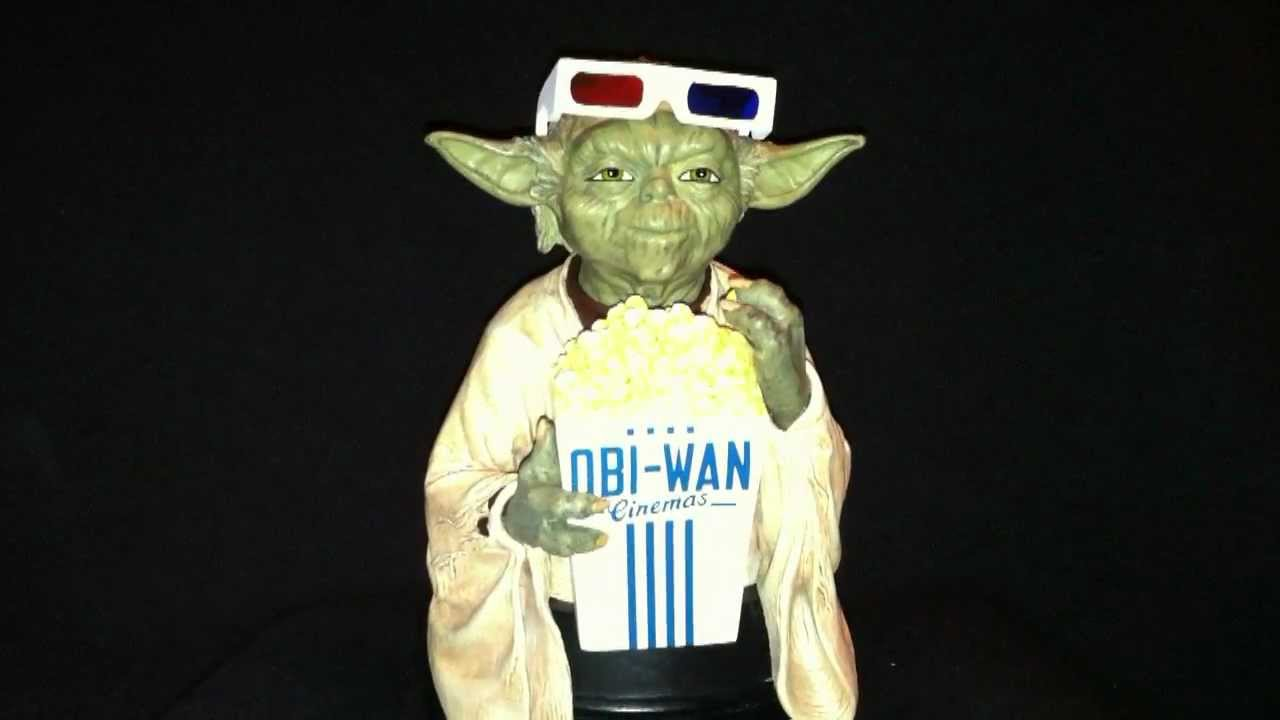 95adb1e05ae8 Star Wars Yoda in 3D Glasses Gentle Giant WonderCon 2012 Exclusive Mini Bust  In Hand First Look