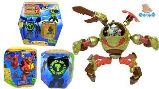 - РОБОТЫ ТРАНСФОРМЕРЫ В ЛИЗУНЕ Ready2Robot Slime Robot Battles Лизун Энергия для Пилотов