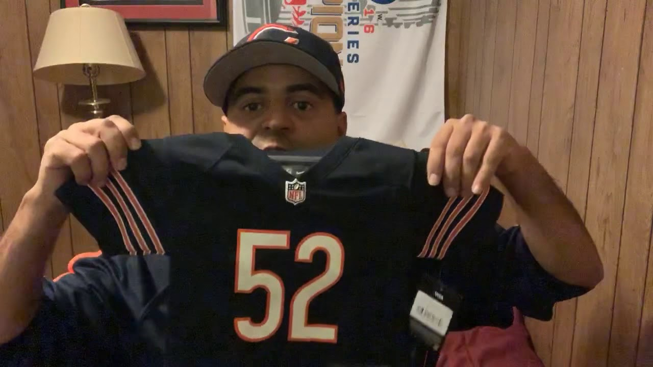 low priced ed003 c446d Khalil Mack Toddler 18 months Chicago Bears jersey