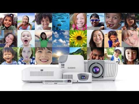 Casio LampFree, MercuryFree, StressFree Projectors