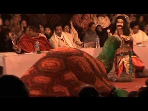 Part Of A Bhaona  ( ভাওনা ) Performed At Chaliha Nagar,Tinsukia, Assam,India.