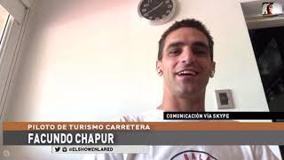 Automovilismo Virtual   Facundo Chapur en El Show En La Red 27 09 20