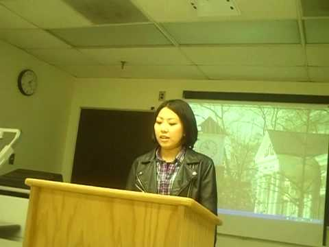 Interlink-UNCG CS2 Fall2 2009 Miho Ito Speech 2