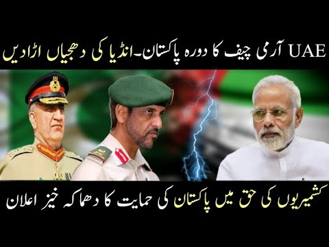 UAE Important Man Saleh Visit Pakistan