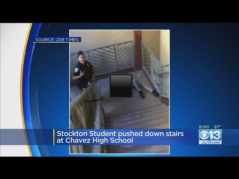 Stockton Student Pushed Down Stairs At Chavez High School