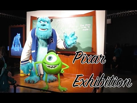 Pixar Exhibition at the LA Science Center
