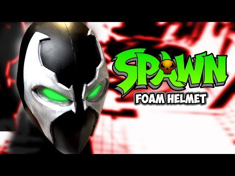 Spawn foam mask How to