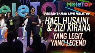Lagu tema AME2019 Hael Husaini & Zizi Kirana - Yang Legit Yang Legend   Persembahan Live MeleTOP