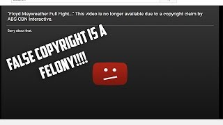 False Copyright Claim is Porking my Channel!! (update: Resolved) thumbnail