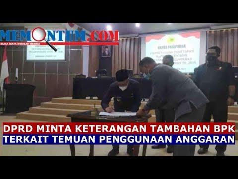 DPRD Bondowoso Akan Minta Keterangan Tambahan pada BPK Terkait Temuan Penggunaan Anggaran