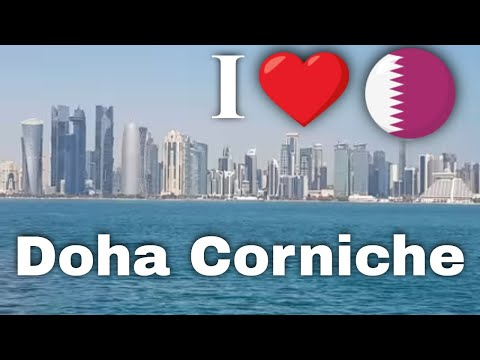 Tourist Locations in Qatar - Doha Corniche in 4K
