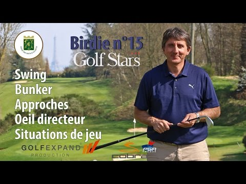 Série Birdie n°15 - Golf de Saint-Cloud - Cours de golf en situation