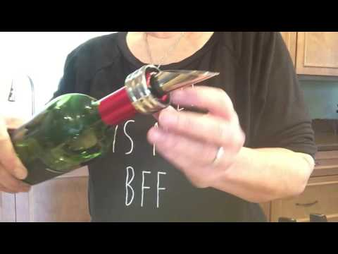 PRODUCT REVIEW:  Wine Accessory Set