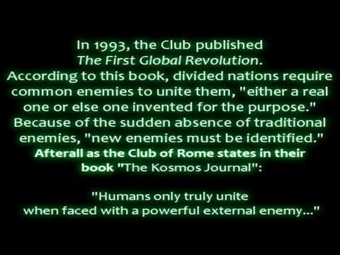 Club of Rome - Global Warming Quotation