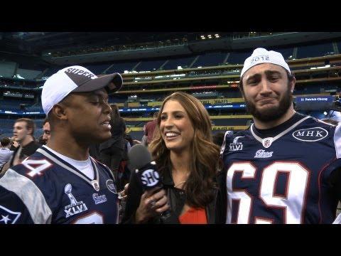 Inside the NFL - Media Day - Super Bowl XLVI