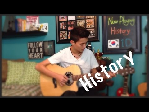 History - 1D (One Direction) - Fingerstyle Guitar Cover