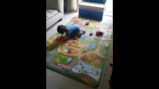 Baby Kids childrens play fun and games toy car mat