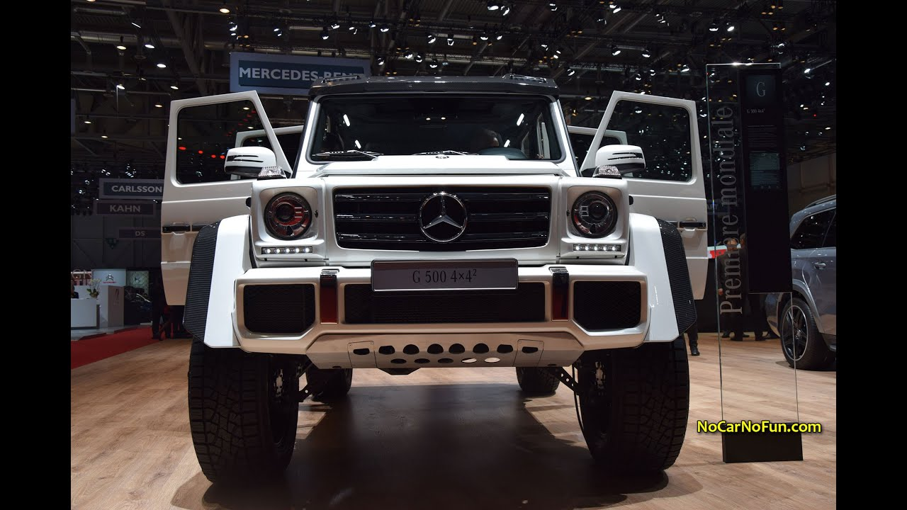 2015 mercedes g500 4x4 2 2015 geneva motor show youtube. Black Bedroom Furniture Sets. Home Design Ideas