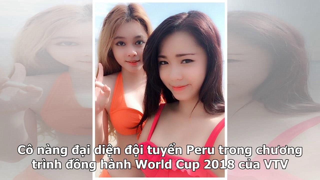 Dàn hot girl bình luận World Cup khoe thân hình nóng bỏng trong trang phục bikini khiến dân mạng ...