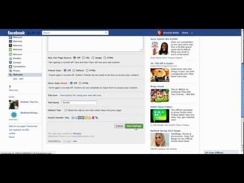 How To Add A Sign Up Form To Facebook
