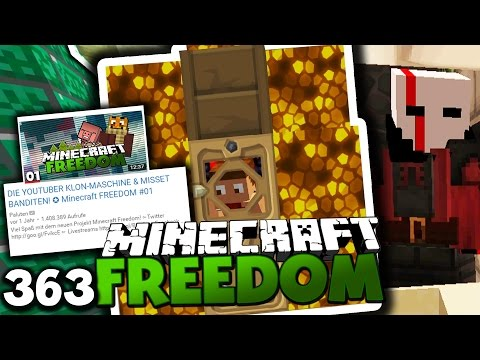 1 JAHR MINECRAFT FREEDOM!  ✪ Minecraft FREEDOM #363 | Paluten