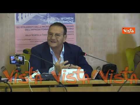 Mario Baccini al convegno su microcredito e donne a Loreto