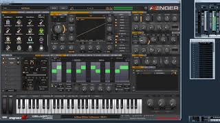 Vengeance Producer Suite - Avenger new Analog Vintage Filter type