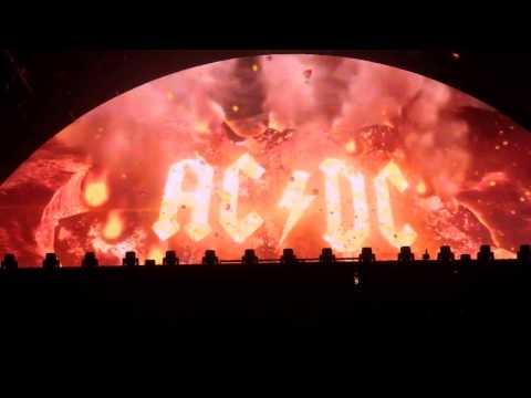 AC/DC ROCK OR BUST WORLD TOUR INTRO/OPENING VIDEO HQ