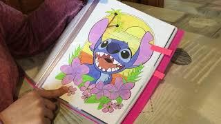 Présentation de mes coloriage Disney