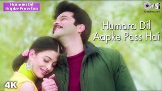 Hamara Dil Aapke Paas Hai | Aishwarya Rai | Anil Kapoor | Alka Yagnik | Udit Narayan | Hindi Song