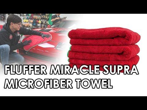Chemical Guys MIC99703 16 x 24 Fluffer Miracle Supra Mircofiber Towel Red//Green Trim Pack of 3