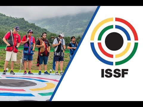 Trap Men Final - 2018 ISSF World Championship in all events in Changwon (KOR)