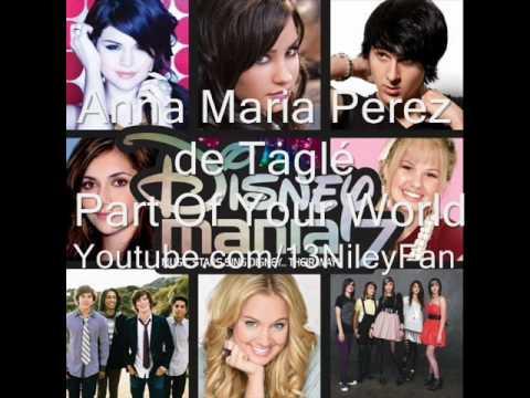 Anna Maria Perez de Taglé Part Of Your World Disney Mania 7 Full
