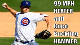 Kerry Wood Showing Off His Fastball and Curveball