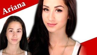 How to look like ARIANA GRANDE - Round eyes to cat eyes eyeliner makeup tutorial