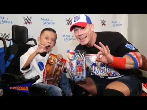"Thumbnail: Make-A-Wish's Alex ""The Bulldog"" creates a custom John Cena Mattel action figure"