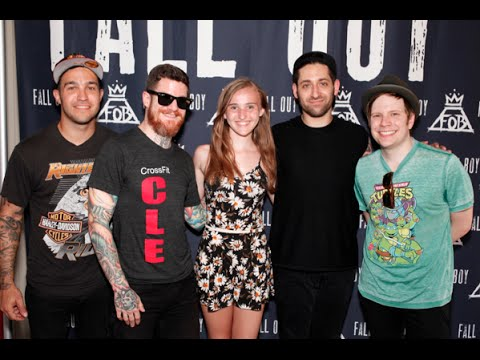 how to meet fall out boy