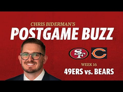 Postgame Buzz: San Francisco 49ers lose 14-9 to the Chicago Bears
