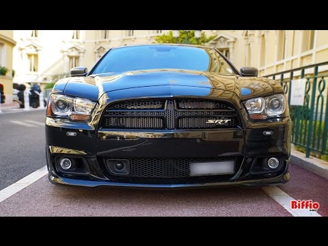 Dodge Charger Srt8 6.4L Hemi Brutal Sound - Acceleration in Monaco