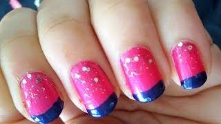 Easy Nail Art For Beginners: Summer Nails!! Thumbnail