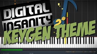 Download Digital Insanity Keygen Theme – Unreal Super Hero 3 || Synthesia Piano Tutorial (alanpham99) MP3 song and Music Video