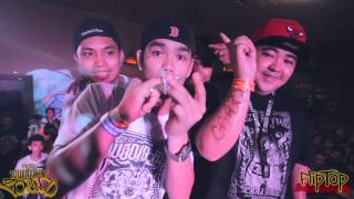 Repeat youtube video FlipTop - Crazymix/Basilyo vs Mocks Wun/Verse1 @ Dos Por Dos 2