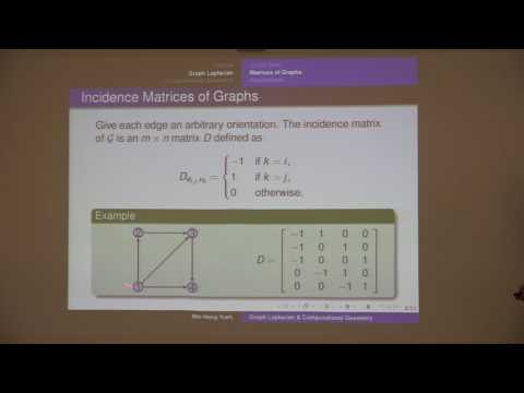 Introduction to Graph Laplacian and Computational Geometry