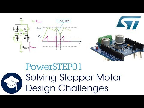 Solving Stepper Motor Design Challenges with PowerSTEP01