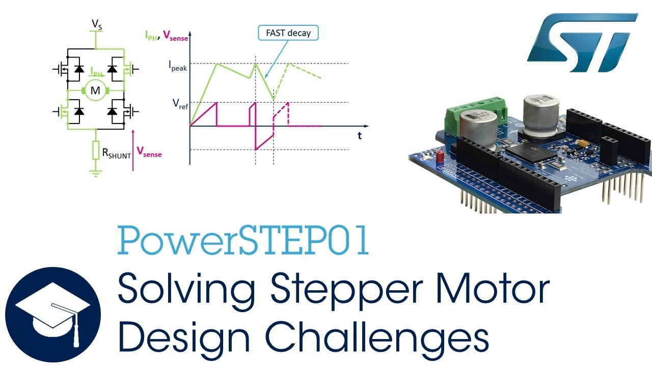 Solving Stepper Motor Design Challenges With Powerstep01 Youtube Circuit Diagram