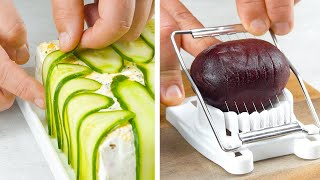 Toast 12 Slices Of Bread In The Oven &amp &quotDisguise&quot Them With 2 Cucumbers  Yummy!
