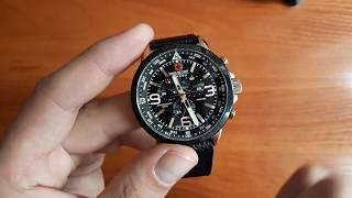 Огляд і налаштування. Швейцарський годинник Swiss Military Hanowa 06-4224.09.007. Інтернет магазин Lekos